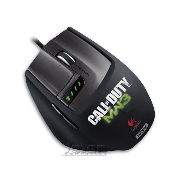 G9x CALL OF DUTY MW3 EDITION GAMING LAZER MOUSE