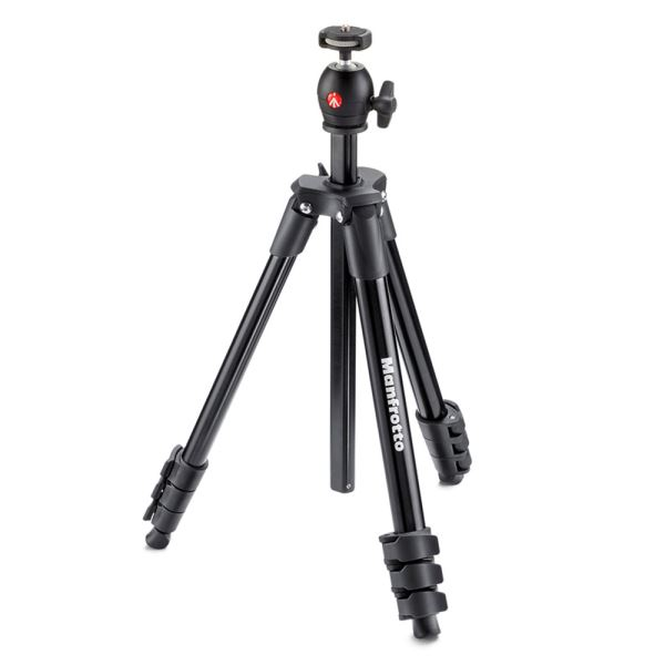 MANFROTTO MK COMPACT LİGHT TRİPOD(SİYAH)