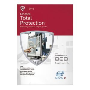 McAfee Total Protection 2015- Intel Security - 3 Kullanıcı
