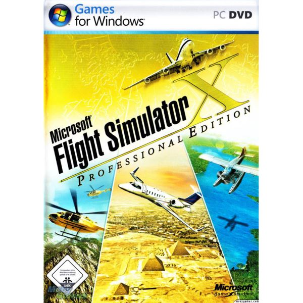 PC FLIGHT SIMULATOR X DELUXE
