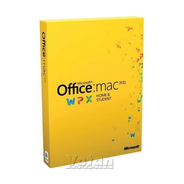 Office Mac Home and Student 2011 English 1 License