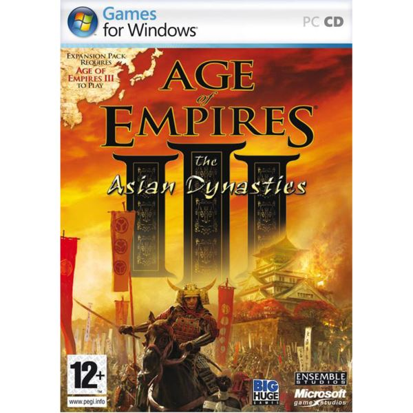 PC AGE OF EMPIRES III: DYNASTIES