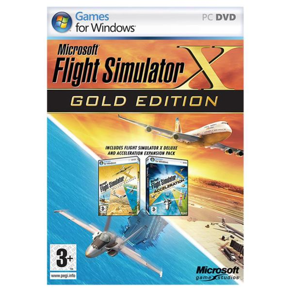 PC FLIGHT SIMULATOR X GOLD EDITION