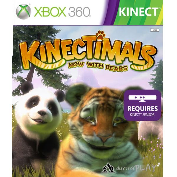 X360 KINECTIMALS NOW WITHBEARS