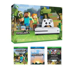 MICROSOFT XBOX ONE S 500 GB + MINECRAFT FAVOURITE PACK