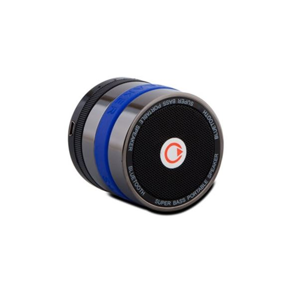 MIKADO MD-BT11 Mini Bluetooth Speaker FM Radyo Destekli - Mavi