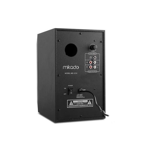 MIKADO MD-1212 2+1 USB+SD+FM DESTEKLİ SPEAKER