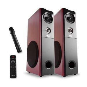 MIKADO MD-101BT Usb+SD+FM Radyolu 2.0 Bluetooth  Kule Speaker