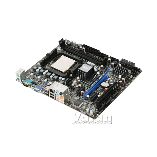 MSI 760GM-P33 AMD 760G AM3 DDR3 1600MHz (O.C.) VGA Anakart