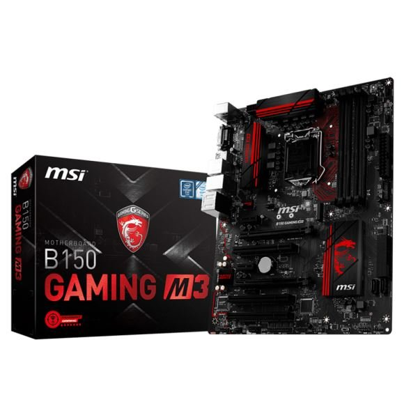 MSI B150 GAMING M3 Intel B150 Soket 1151 DDR4 2133MHz USB3.1 Anakart