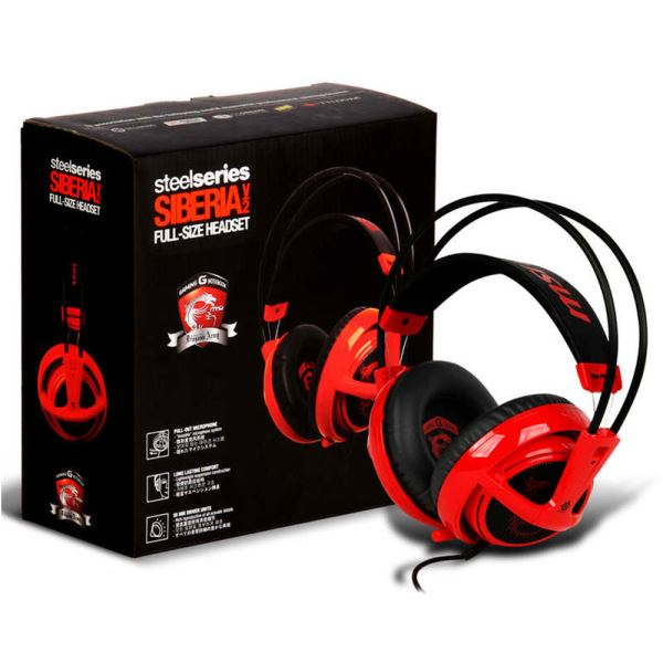 Msı Steelseries Siberia V2 Gaming Headset Kulaklık