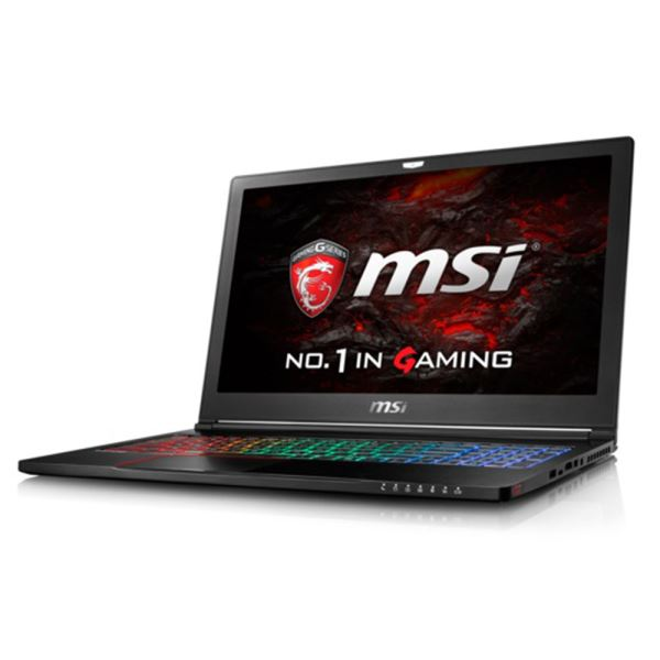 MSI GS63VR STEALTH 4K CORE İ7 6700HQ 2.6GHZ-16GB-256GB SSD+2TB-15.6