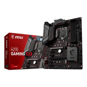 MSI H270 GAMING M3 Intel H270 Soket 1151 DDR4 2400MHz USB3.1 Anakart