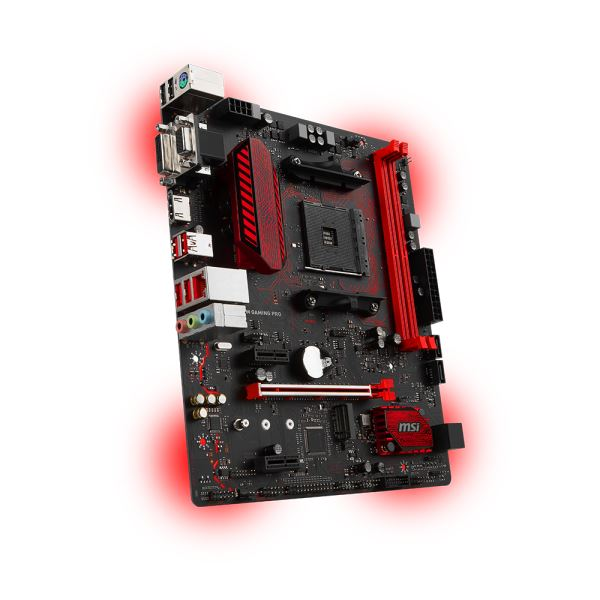 MSI A320M GAMING PRO AM4 AMD Ryzen™ DDR4 3200+MHz (O.C.) USB 3.1 Anakart