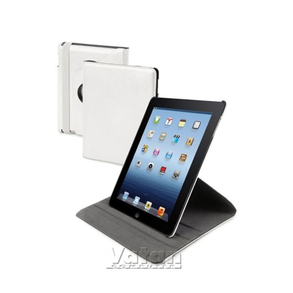 13935 SNOW SWİVEL THE NEW İPAD KILIF VE STAND- (BEYAZ)