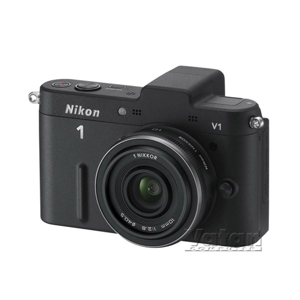 NIKON1 V1 BLACK 10 MM LENS KIT 10.1 MP 3
