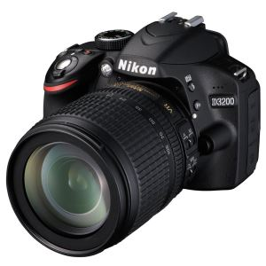 "NIKON D3200 KIT +18-105 VR 24.2 MP 3""  SLR DIJITAL FOTOĞRAF MAKİNESİ Black"
