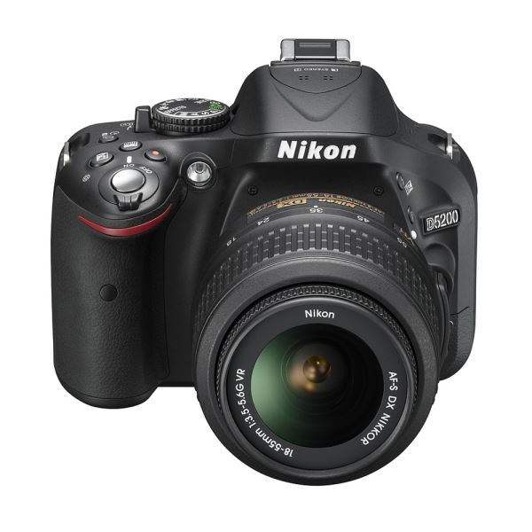 NIKON D5200 18-55mm VR II KIT 24.1 MP 3