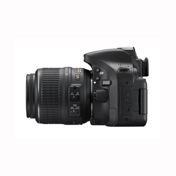 NIKON D5200 18-55mm VR II + 55-200 VR II KIT 24 MP DİJİTAL SLR FOTOĞRAF MAKİNESİ
