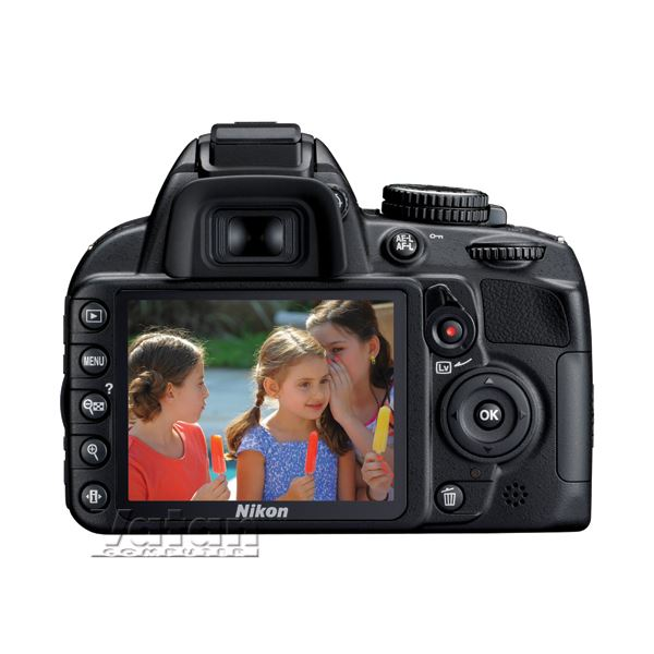NIKON D3100 KIT (18-55 mm VR Lens) 14.2 MP 3