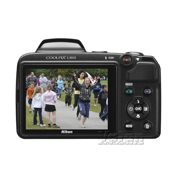 NIKON COOLPIX L810 16 MP 3
