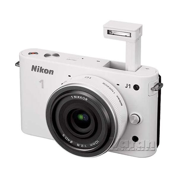 NIKON1 J1 WHITE 10MM LENS KIT 10.1 MP SLR DIJITAL FOTOĞRAF MAKİNESİ