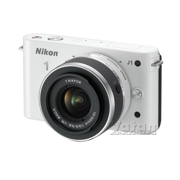 NIKON1 J1 WHITE KIT (10MM-30MM&30-110 MM) KIT 10.1 MP SLR FOTOĞRAF MAKİNESİ