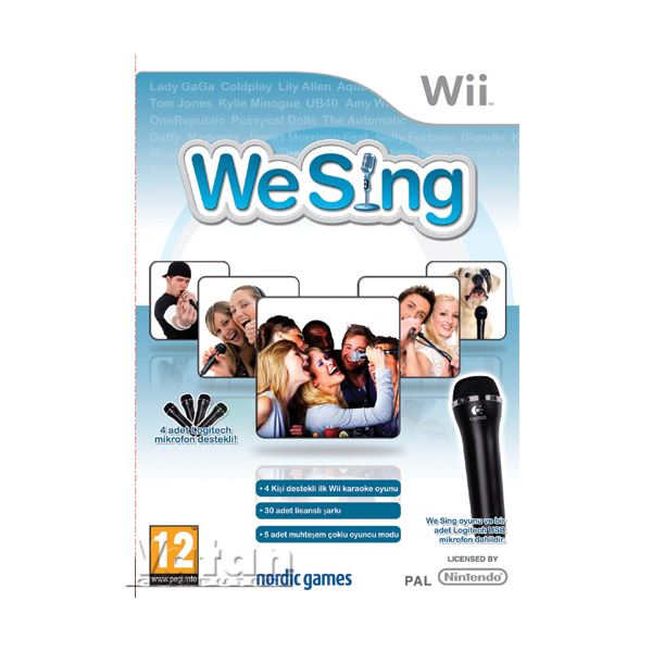 NINTENDO Wii We Sing with Mic.