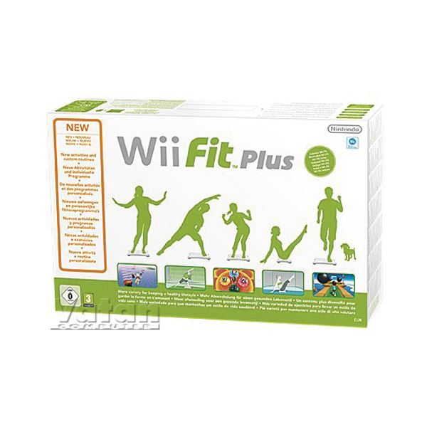 NINTENDO Wii Fit Plus + Balance Board White