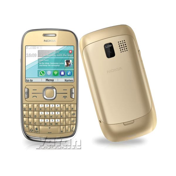 ASHA 302 CEP TELEFONU(GOLD LIGHT)