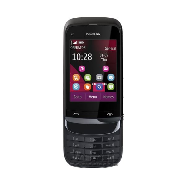 C2-02 CEP TELEFONU (CHROME BLACK)