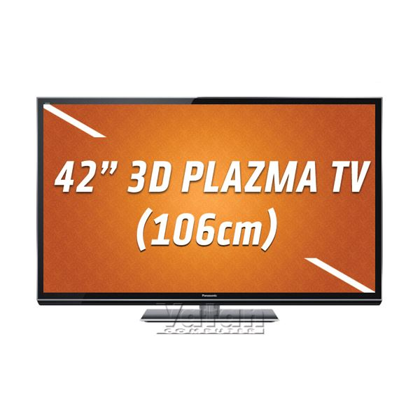 PANASONIC TX-P42GT50E 3D FULL HD 106cm TV,1920x1080,2500 Hz,Wİ-Fİ,HDMI,USB,2D/3D