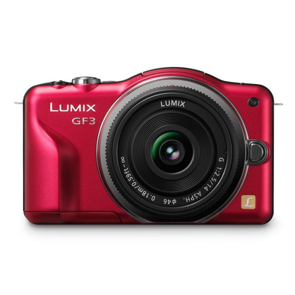 PANASONIC DMC-GF3K  14-42 MM 12.1 MP 3