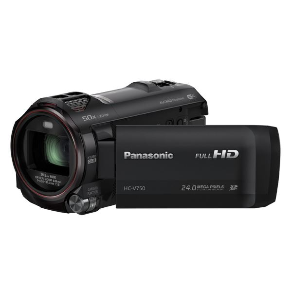 PANASONIC LUMIX HC-V750EB-K VİDEO KAMERA