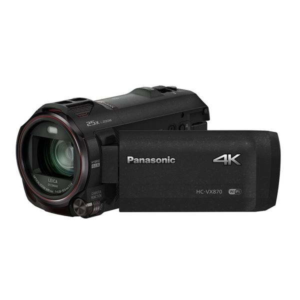 PANASONIC HC-VX870 4K VİDEO KAMERA