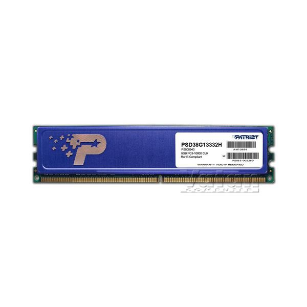 8GB Signature DDR3 1333MHz CL9 Tek Modül Ram