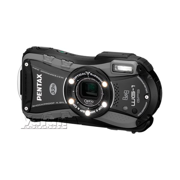 PENTAX OPTİO WG1 WİNTER PACK 14 MP DIJITAL FOTOĞRAF MAKİNESİ (BLACK)