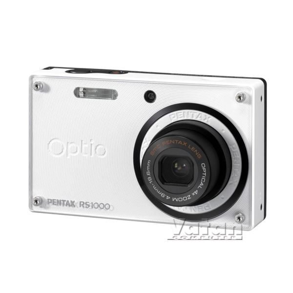 PENTAX RS1000 14MP 4X OPT. HDVIDEO 3.0 LCD Li-Ion 1/2000 SR BEYAZ