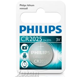 PHİLİPS PİL MİNİCELL LITHIUM CR2025 TEKLİ BLISTER