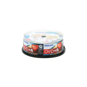 DVD+R 16X 4,7GB 25'Lİ CAKE BOX