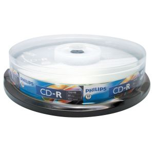 CD-R 52X 700MB 10'LU CAKE BOX
