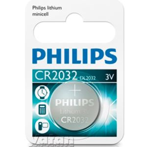 PHİLİPS PİL MİNİCELL LITHIUM CR2032 TEKLİ BLISTER