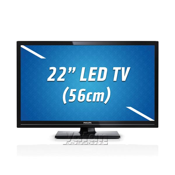 PHILIPS 22PFL2908H/12 LED FULLHD,22'' 56 CM,1920X1080P,100.000:1,100 Hz,HDMI,USB