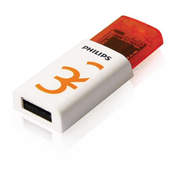 PHILIPS 32GB Eject Turuncu USB 2.0 USB Bellek