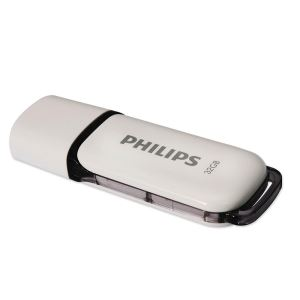 PHILIPS 32GB Snow Gri USB 3.0 USB Bellek