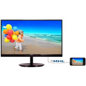 "PHILIPS 23"" 234E5QDAB/00 5ms Full HD MHL-HDMI DVI VGA SPEAKER AH-IPS MONİTÖR"