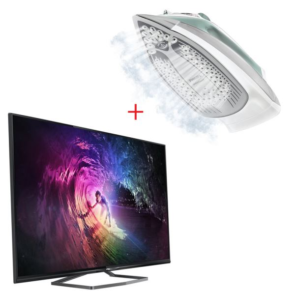 PHILIPS 50PUK6809/12 TV + PHILIPS GC4845/35 ÜTÜ BUNDLE KAMPANYASI