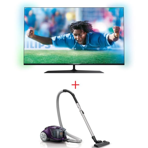 PHILIPS 55PUS7809/12 TV + PHILIPS FC8475 SÜPÜRGE BUNDLE KAMPANYASI