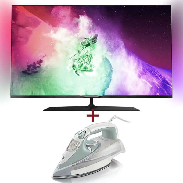 PHILIPS 55PUS7909/12 TV + PHILIPS GC4845/35 ÜTÜ BUNDLE KAMPANYASI