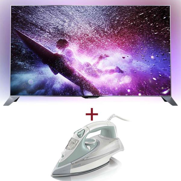 PHILIPS 55PFS8109/12  TV + PHILIPS GC4845/35 ÜTÜ BUNDLE KAMPANYASI